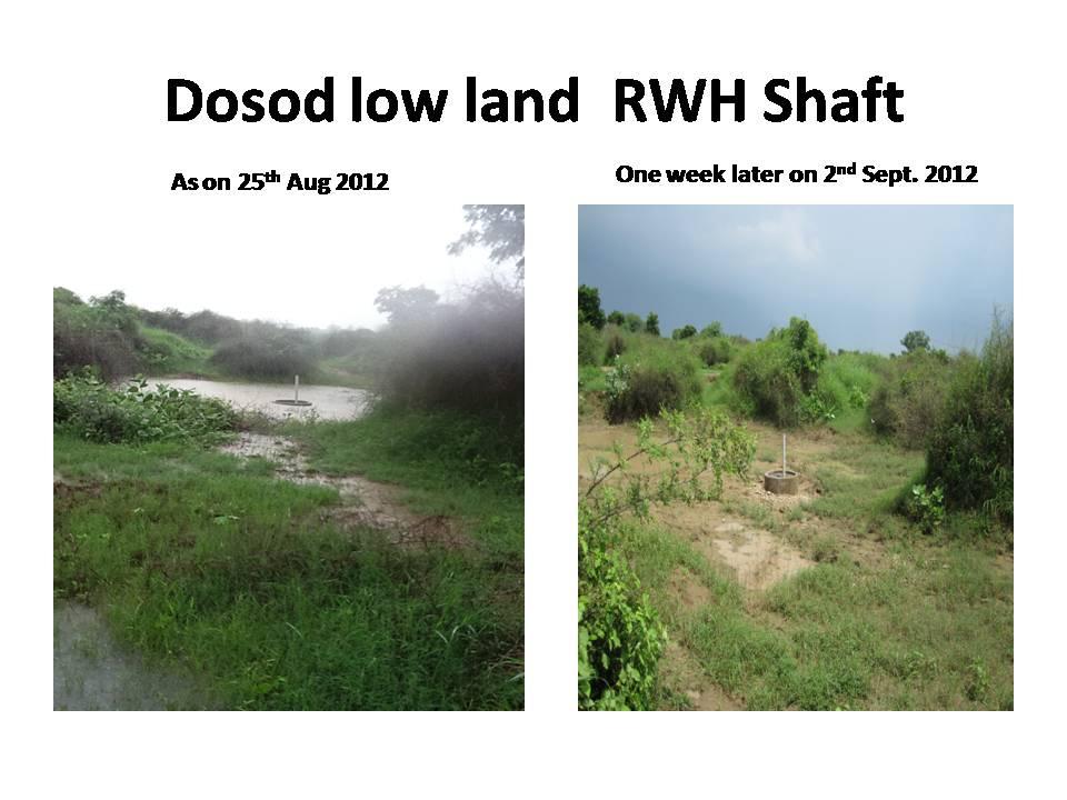 Dosod Lowland Water Harvesting