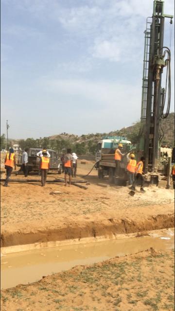 hard rock drilling