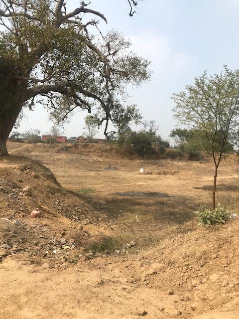 Water scarce land