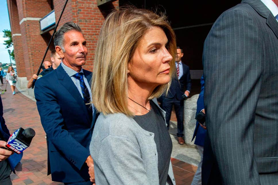 Lori Loughlin jailed over college admissions scandal