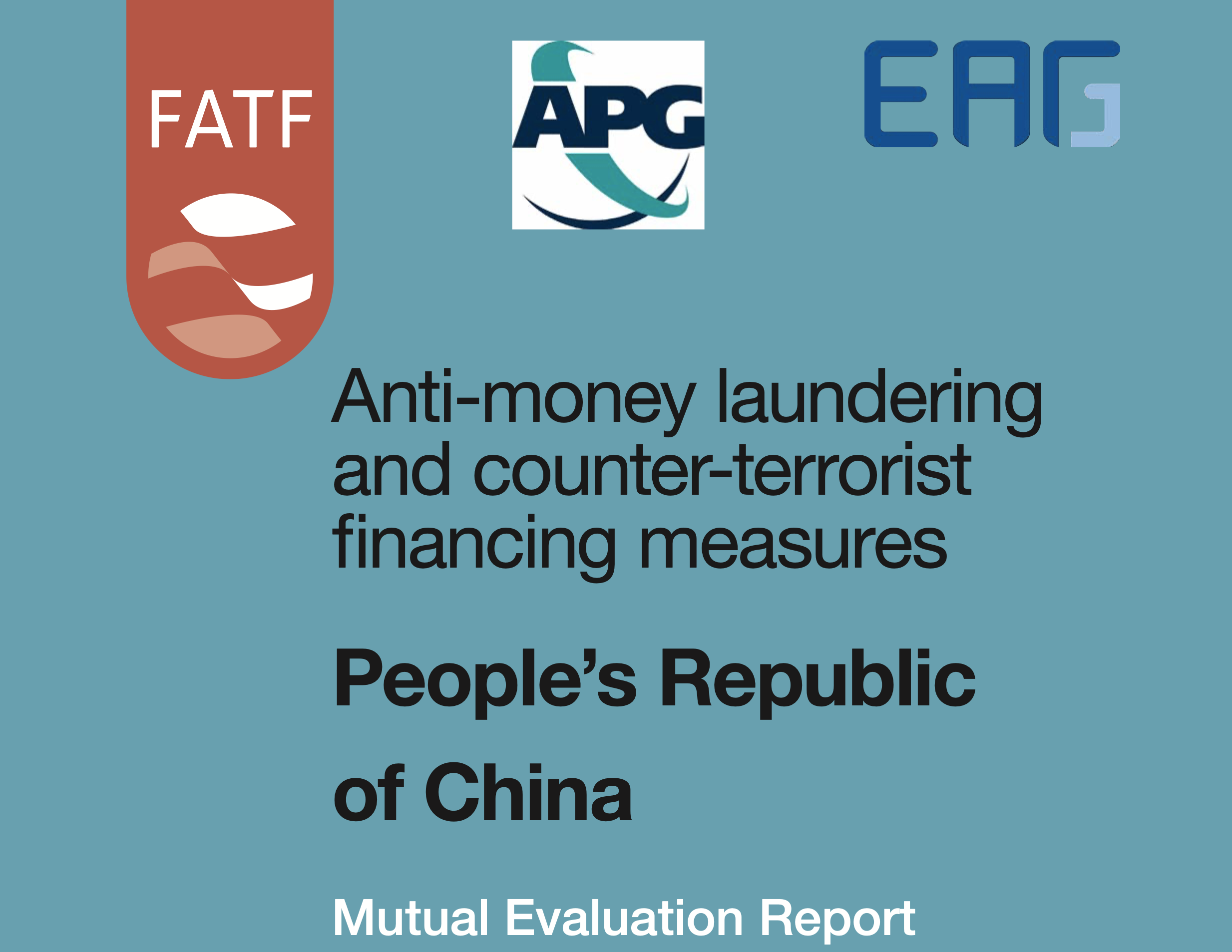 FATF Mutual Evaluation Report – People's Republic of China