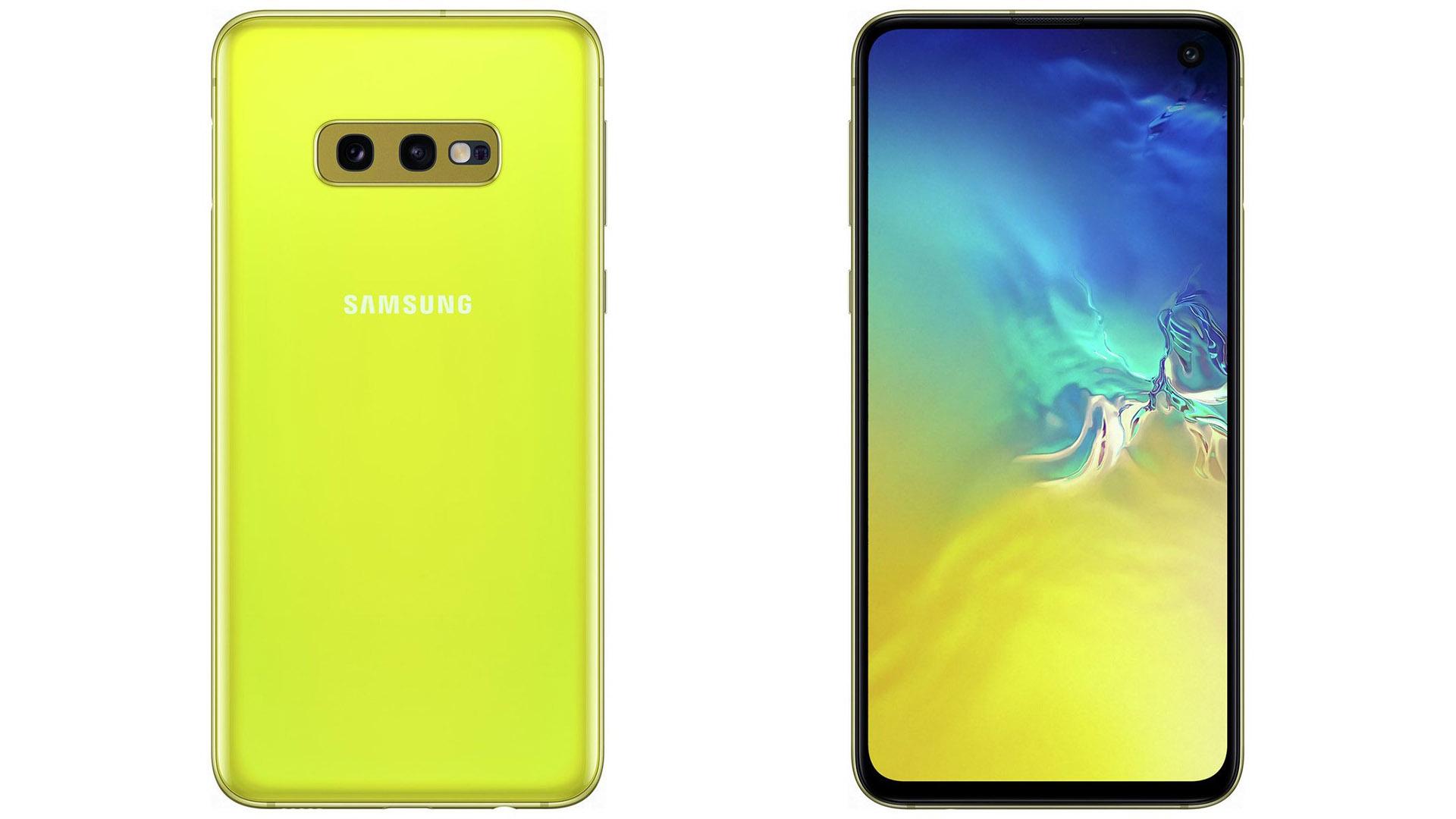 Galaxy-S10e-Canary-Yellow