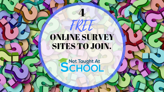 4 Free Online Survey / Review Sites To Join For Extra Money
