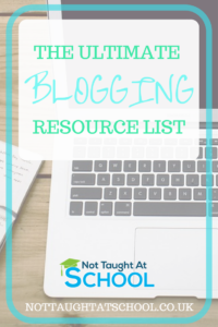 The Ultimate Blogging Resource List