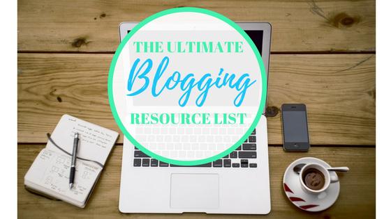 Ultimate Blogging Resource List