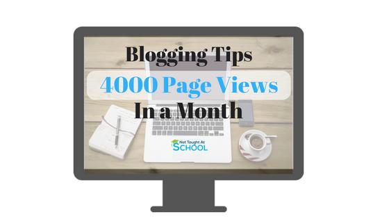 Blog Traffic and Social Media Update