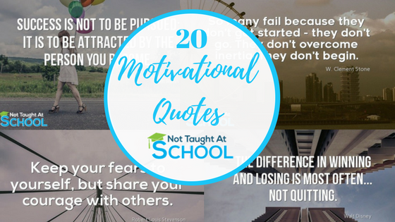Best Motivational Quotes – 20 Of The Best