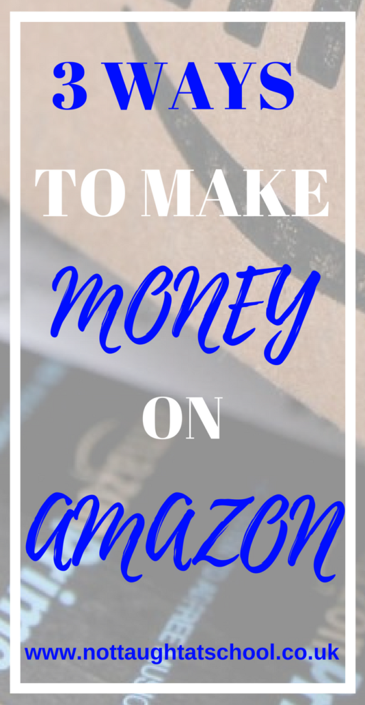 Today I share 3 different ways you can make money on Amazon, these are not your traditional methods like selling and FBA.