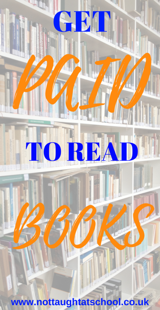 Today we look at how you can get paid to read books, also you get to keep the books.