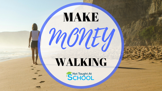 How To Make Money Walking – Simple Passive Income