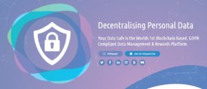 Your Data Safe - How Much Is Your Data Worth? Today we look at the new ICO YDS.