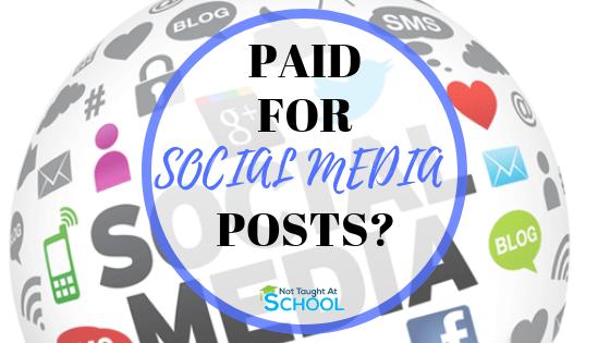 Webtalk – Get Paid For Social Media Posts?