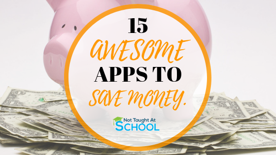 15 Of The Best Money Saving Apps.