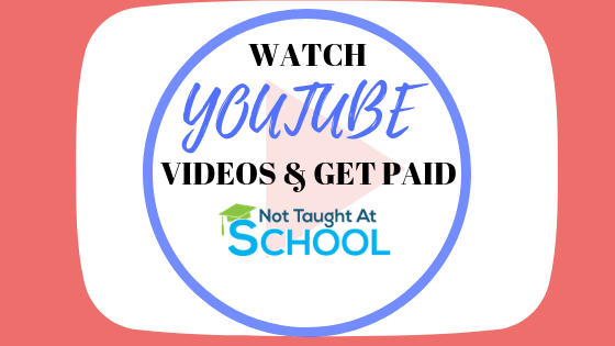 How To Get Paid For Watching YouTube Videos.