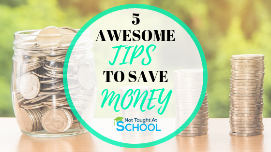 5 Ways To Make Sure Saving Money Becomes a Habit.
