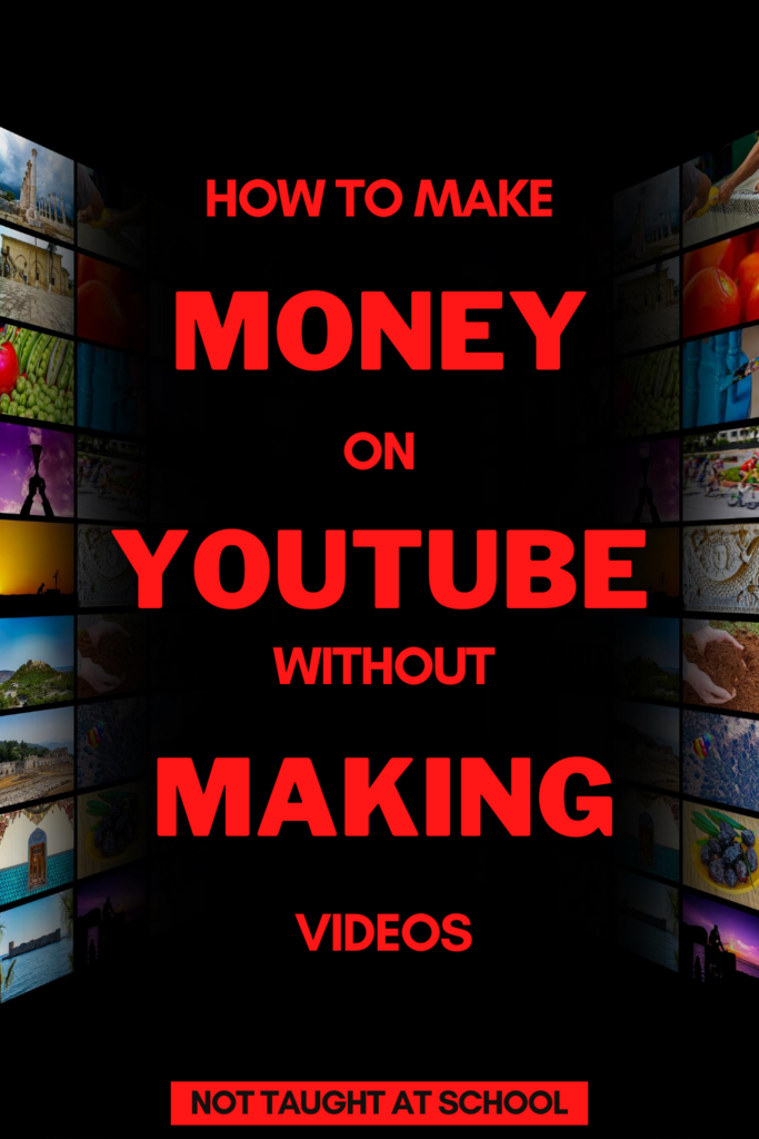 Make Money On Youtube Without Videos