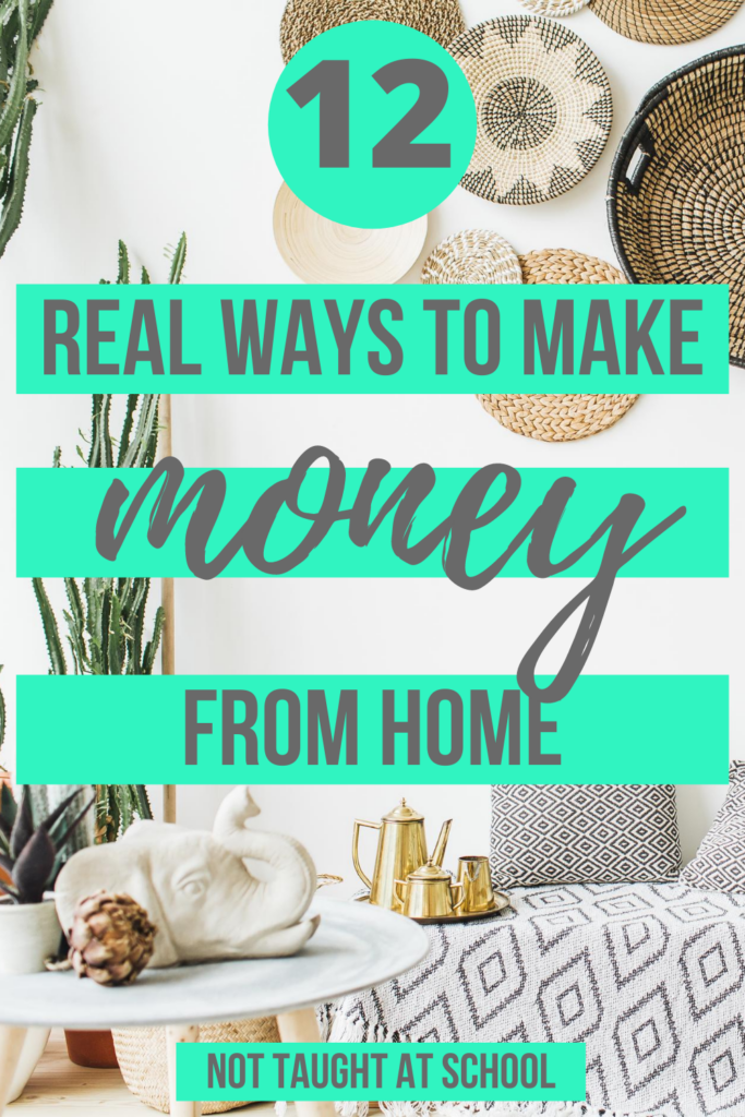 Real Way To Make Money From Home