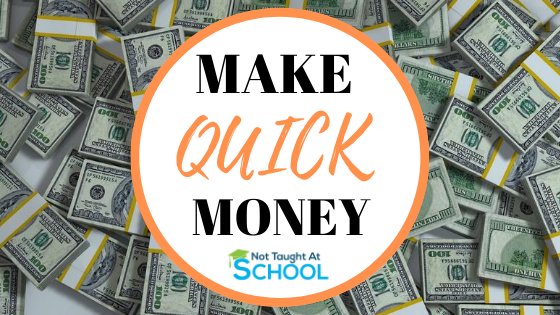 How To Make Quick Money in One Day [15 Ways]
