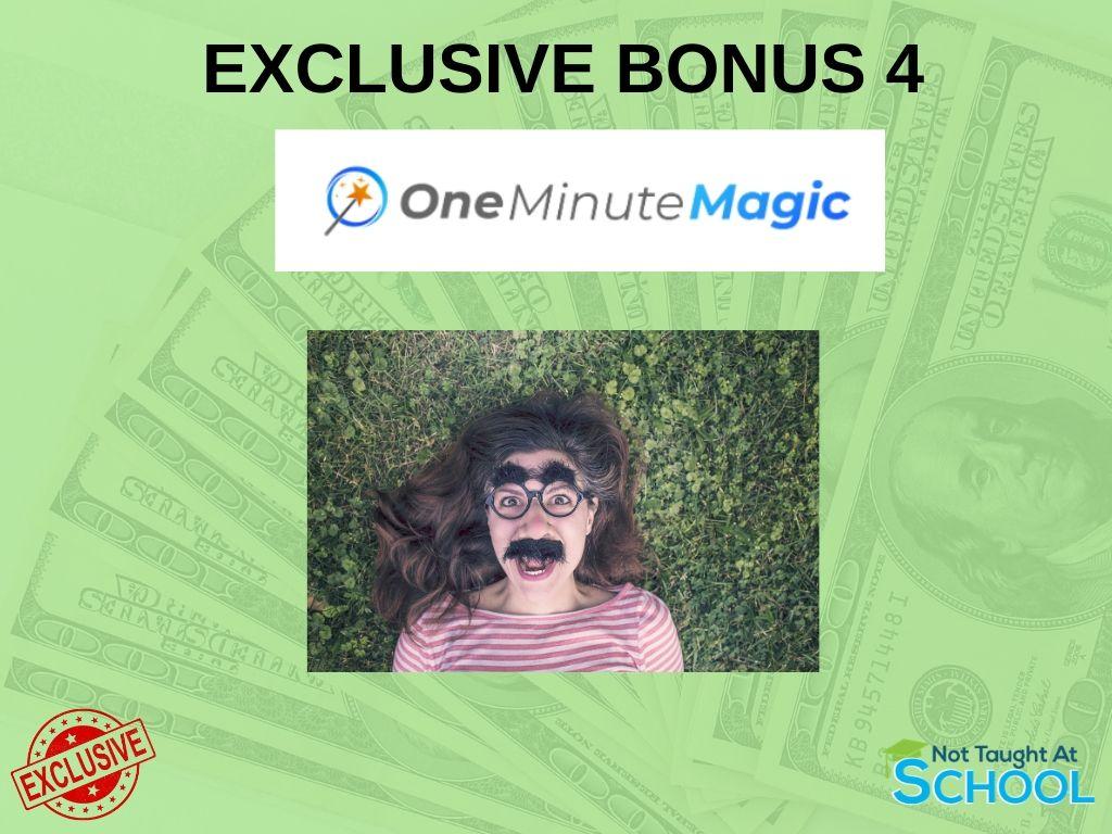 One Minute Magic Bonus