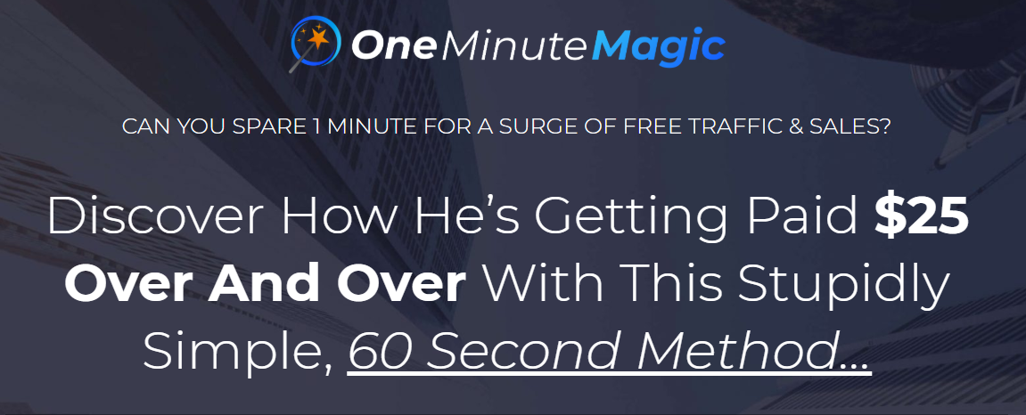 One Minute Magic Review