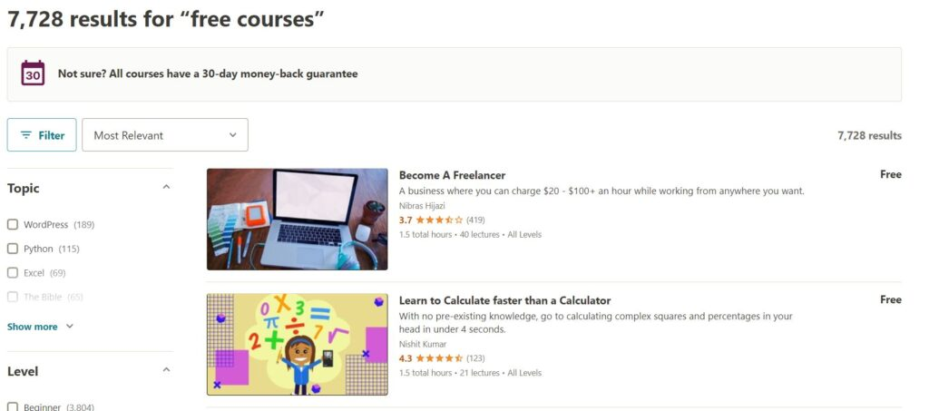 Get Udemy Courses For FREE