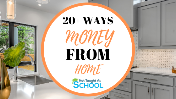 20+ Real Ways To Make Money From Home Part Time