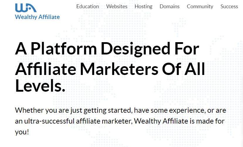 Wealthy Affiliate (Free Affiliate Training)