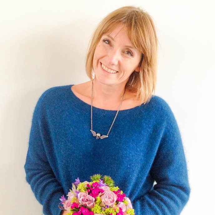 Louise Davies, owner of Garland a north London based florist