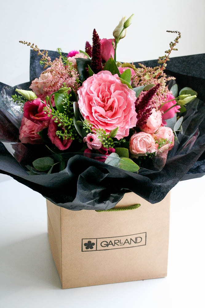 Beautiful gifts all wrapped up from Garland, North London Florist
