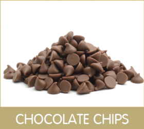frame chocolate chips