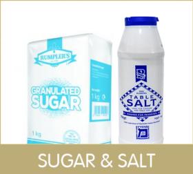 frame sugar salt