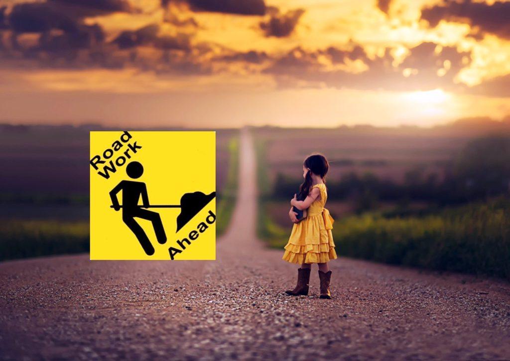 Padmabandhu Road Work Ahead