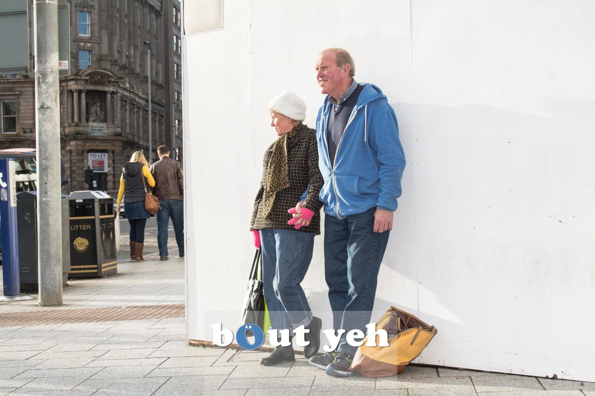 Elderly couple, Belfast. Photo 2689.