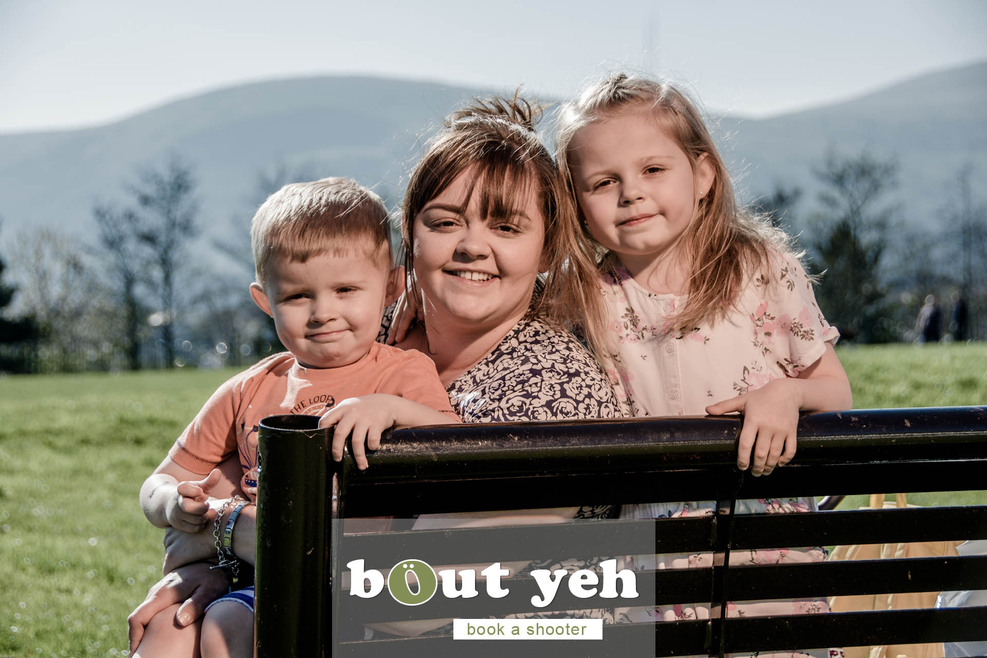 Moya and children, Marrowbone Millenium Park, Oldpark Road, Belfast - photo 5383.
