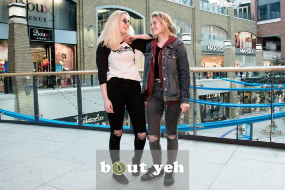 Roxy and Courtney, Victoria Square, Belfast - photo 5445. Featured image.