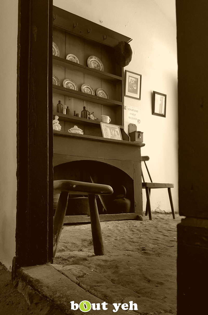 Old Irish living room, by bout yeh photographers Belfast audience member.