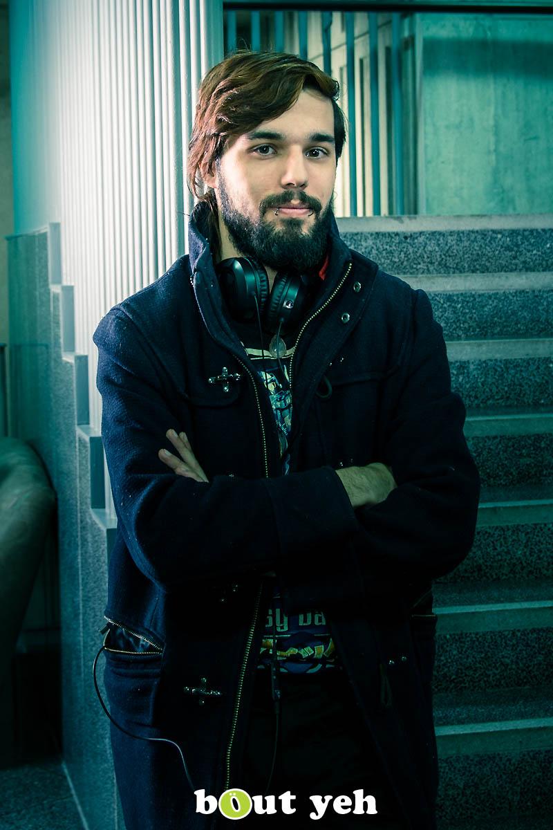 Simon, at The Mac, Belfast - photo 0206.