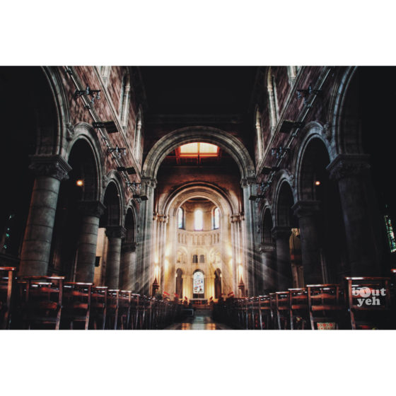 Ireland landscape photograph - Saint Annes Belfast Cathedral, Belfast, Northern Ireland. Reference D Halouzka 1.
