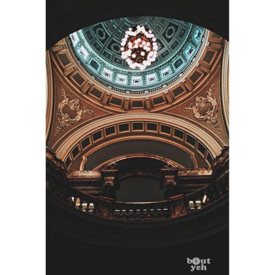 Ireland landscape photograph - Belfast City Hall, Belfast, Northern Ireland. Reference D Halouzka 1.