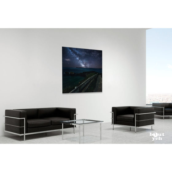 Ireland landscape photograph -Carrick-a-Rede, Northern Ireland, photograph in room setting. Reference H Halouzka 1.