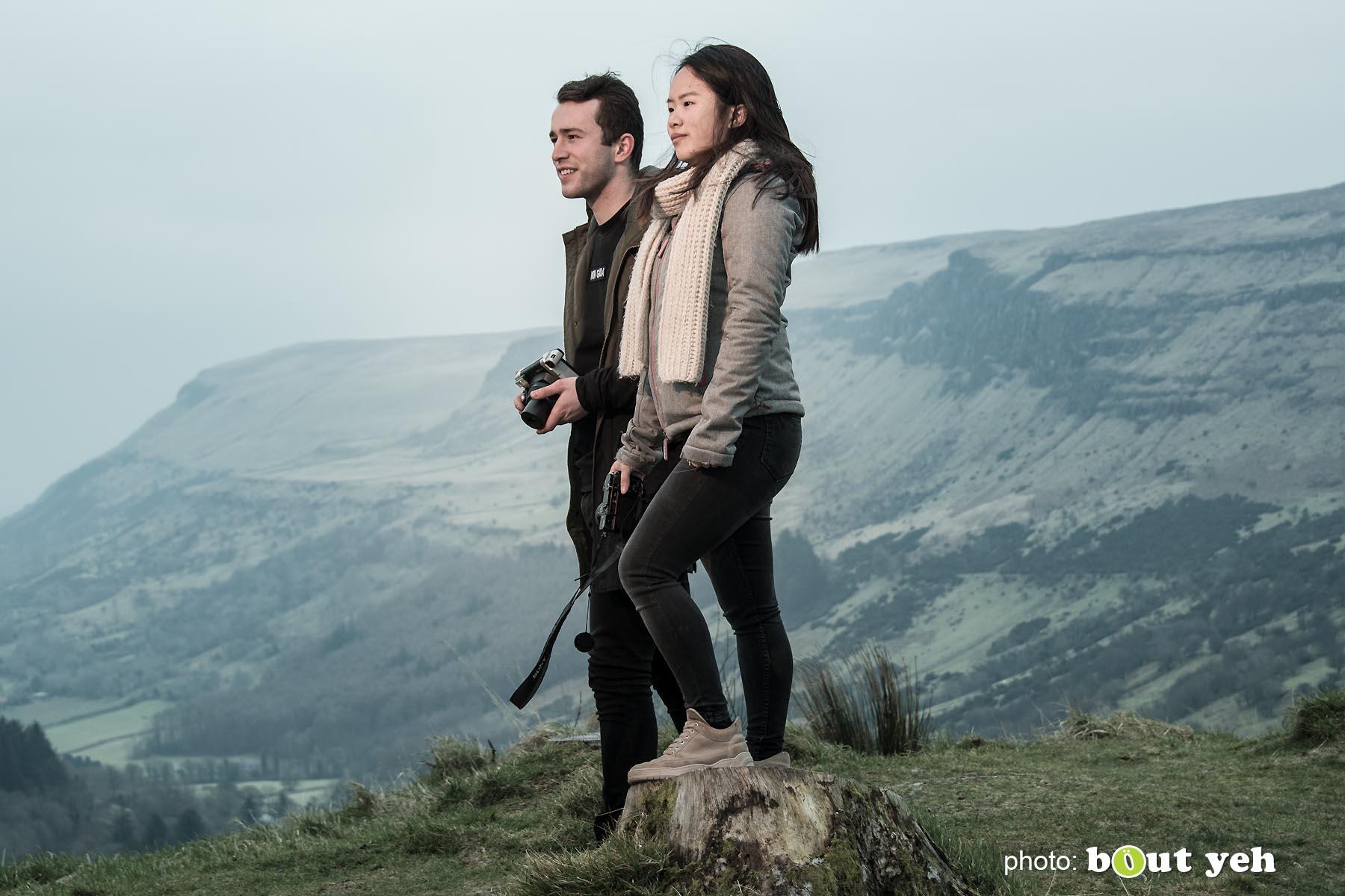 Maikel and Mai-Lin, Glenariff Forest, Northern Ireland. Photo 0650.