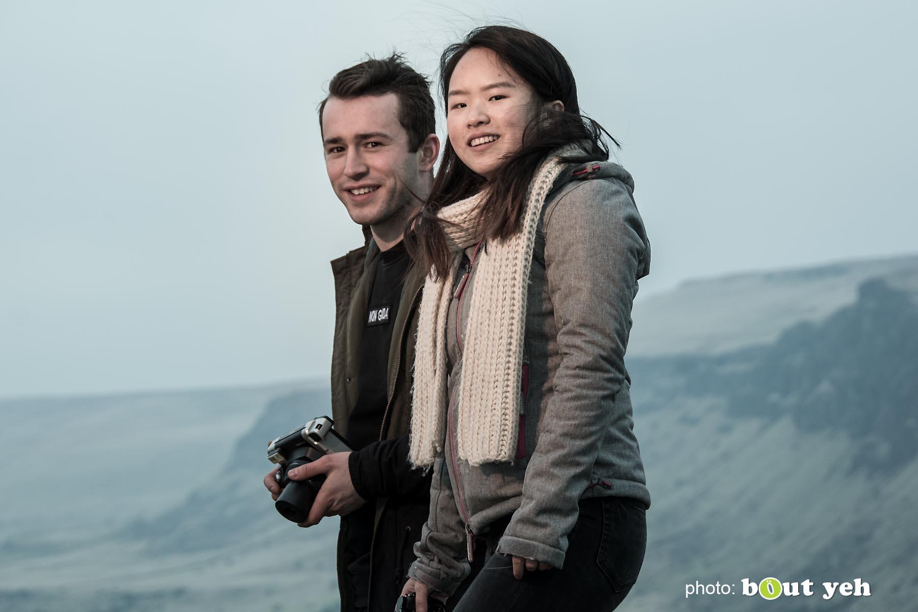 Maikel and Mai-Lin, Glenariff Forest, Northern Ireland. Photo 0652.