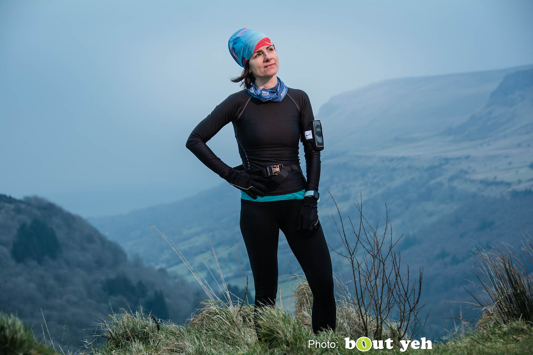 Vicki, at Glenariff Forest, Northern Ireland - photo 0711.