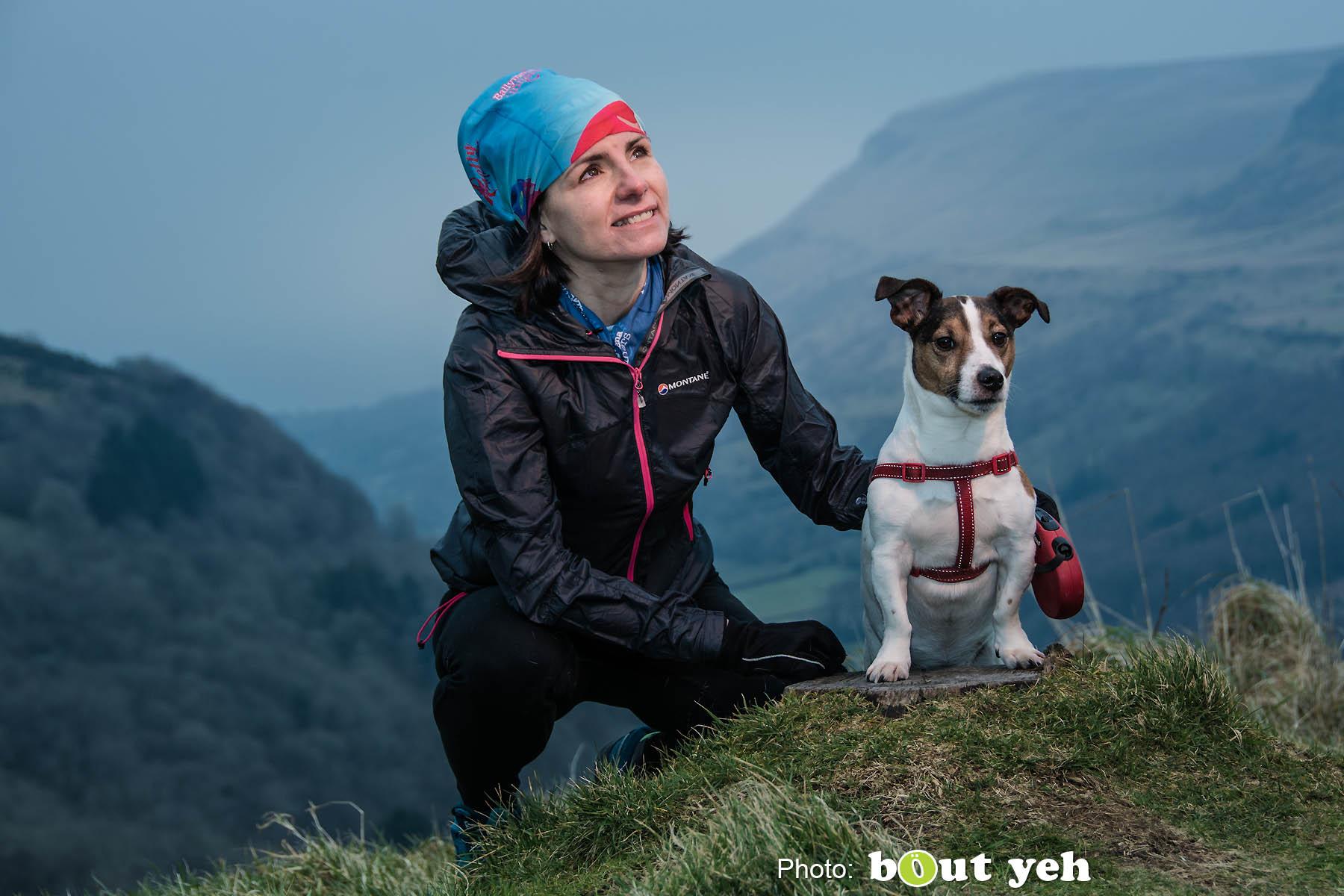 Vicki, at Glenariff Forest, Northern Ireland - photo 0762.
