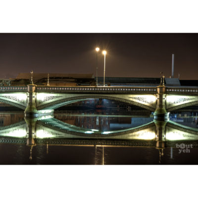 Ireland landscape photograph - Albert Bridge, Belfast, photo 1015