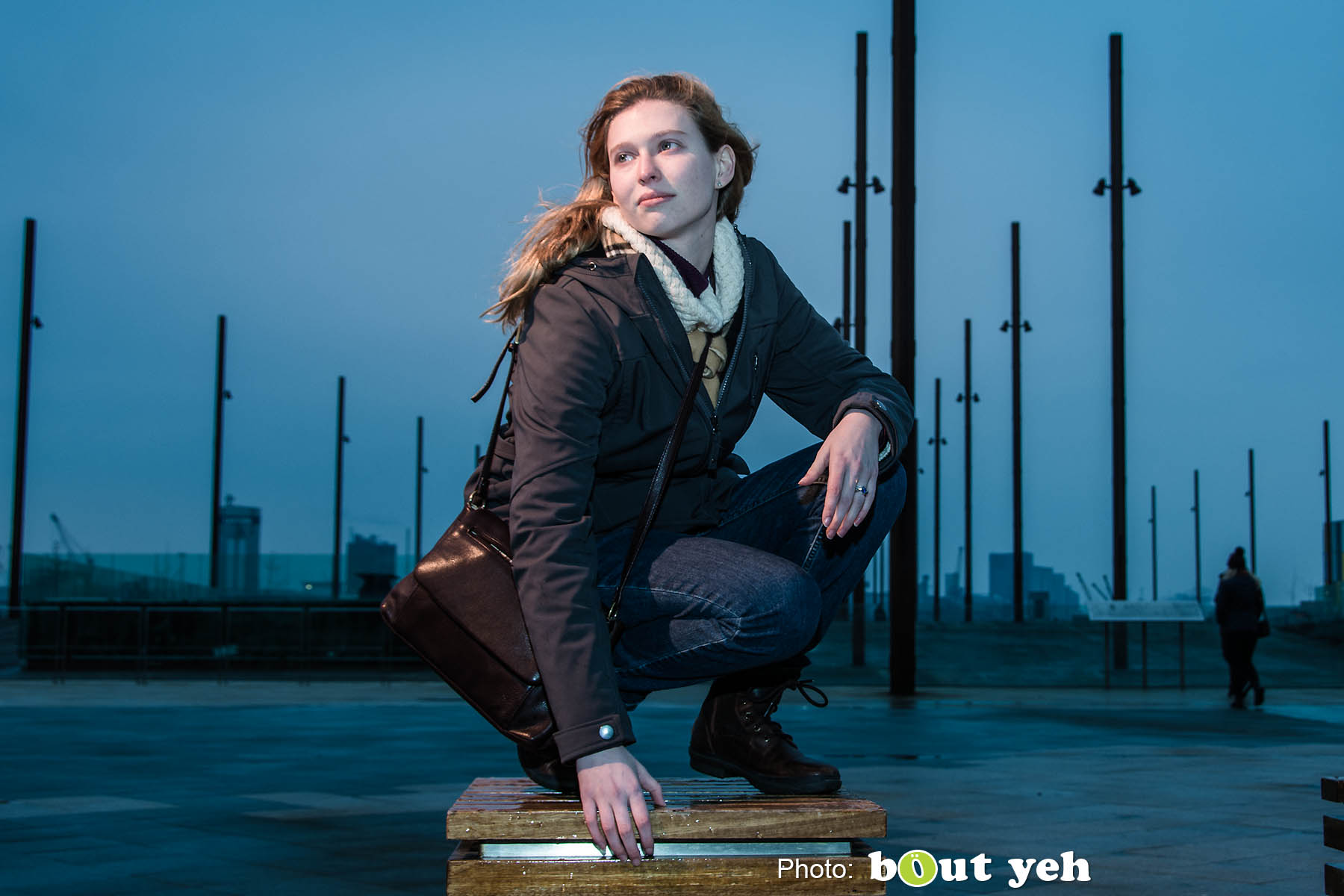 Melanie at Titanic Belfast, by Bout Yeh Photographers Belfast. Photo 0827.