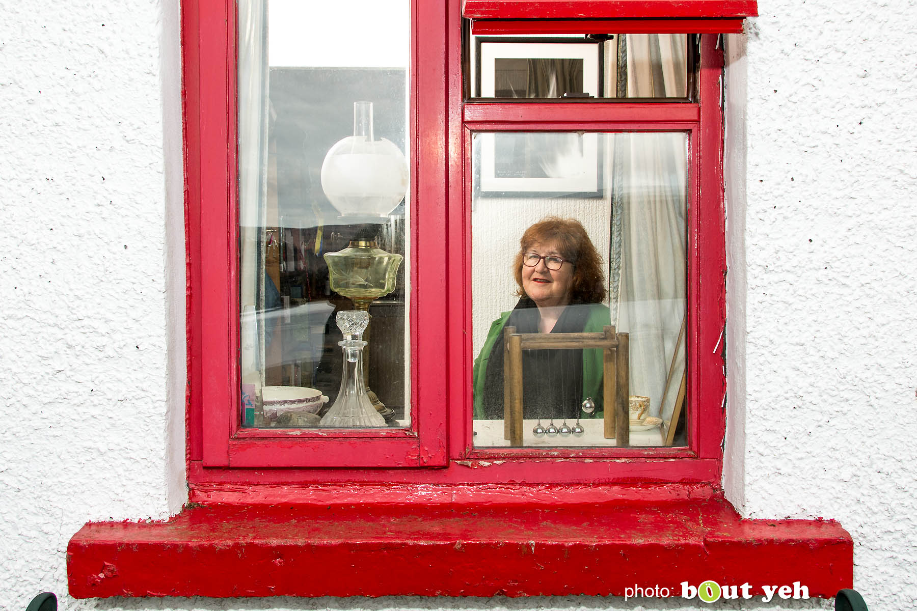 Liz Weir, Ballyeamon Barn Hostel, Glenariff, Northern Ireland - photo 1031.