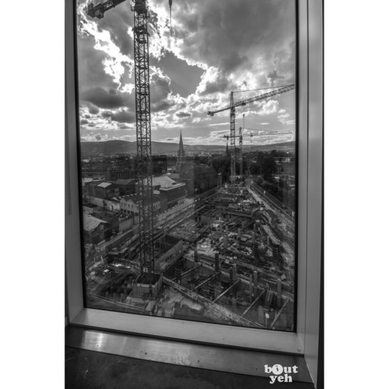 Building Belfast from Above - photographic print for sale.