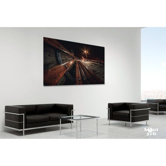 Donaghadee Pier Northern Ireland by rskb - photographic print in room setting.