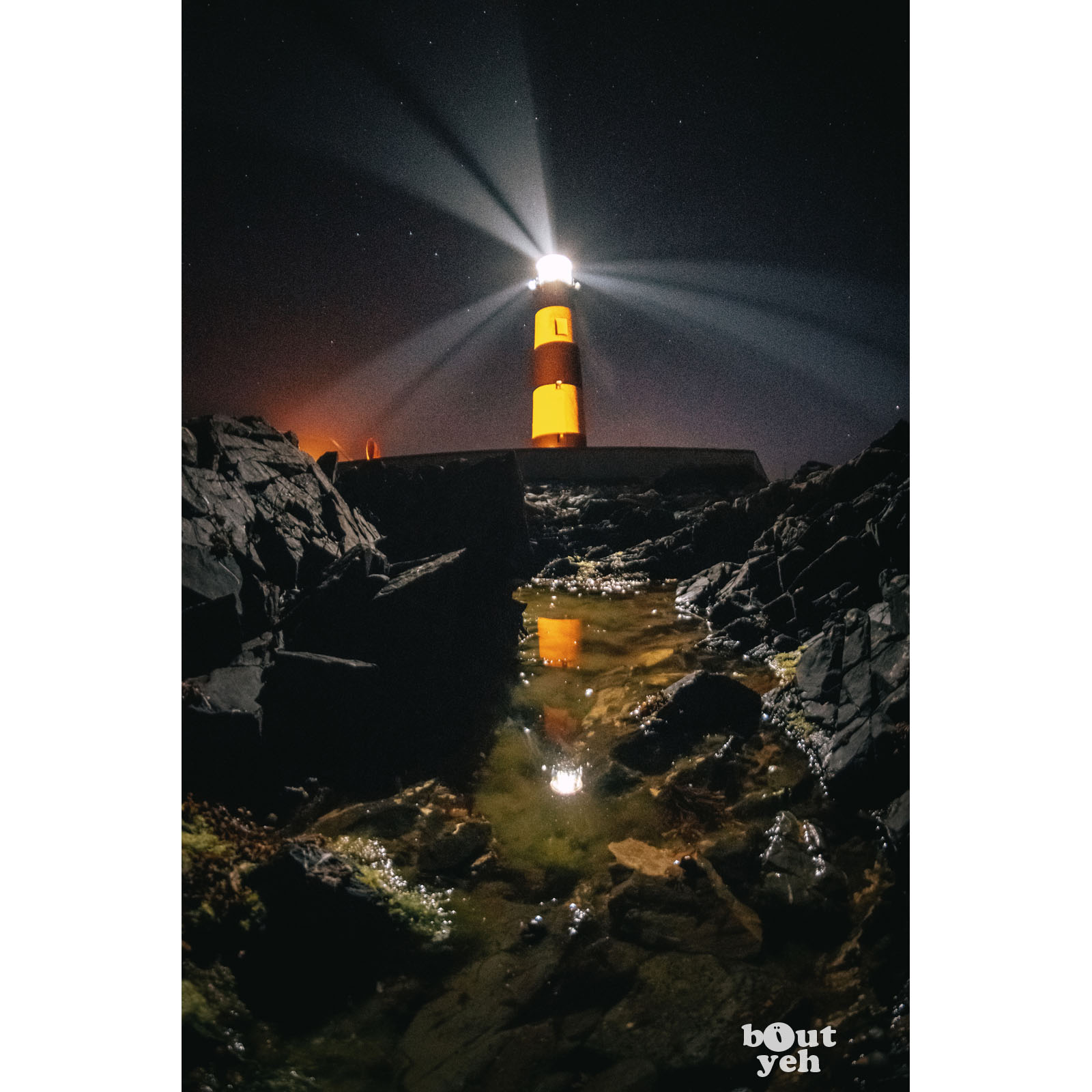 Saint Johns Lighthouse Northern Ireland by rskb - photographic print for sale.